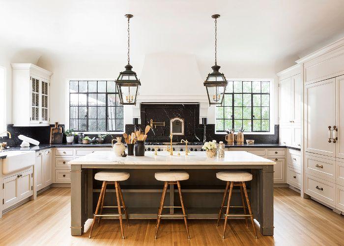 Küchentrends symmetrisches design