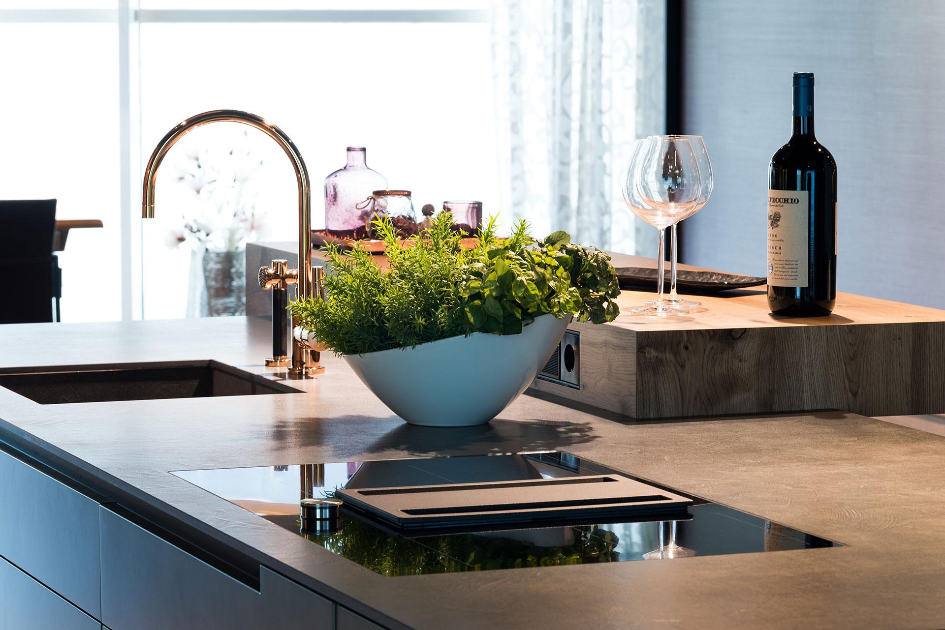 Küchentrends tolle idee für den spülbecken