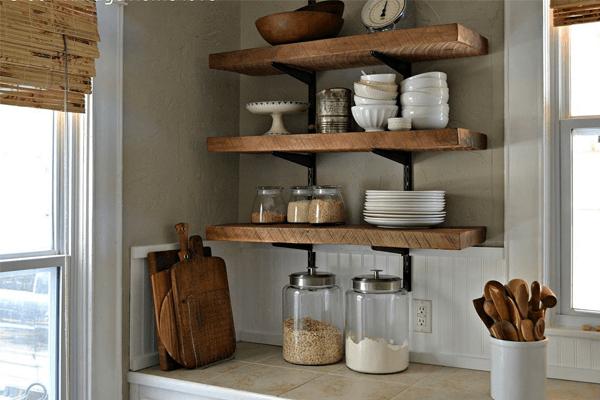Küchentrends tolle regalideen