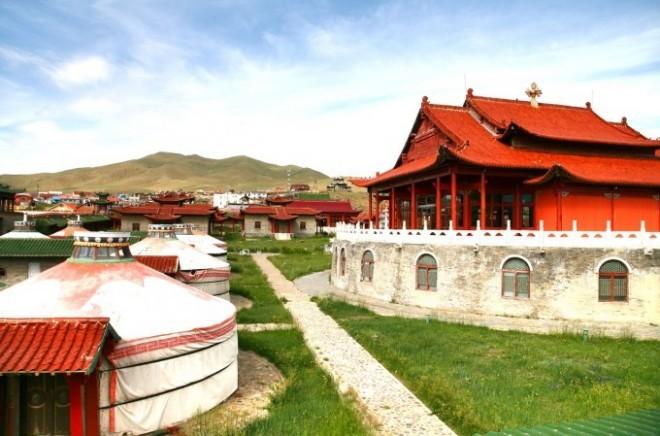 Reiseziele 2019 Palast in Ulaanbaatar Mongolei