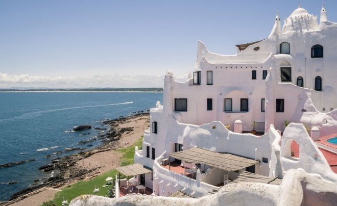 Reiseziele 2019 Punta Ballena Uruguay Hotel am Strand