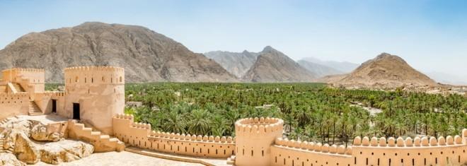 Reiseziele 2019 historische Festung Nakhal Fort 120 von der Hauptstadt Muskat entfernt