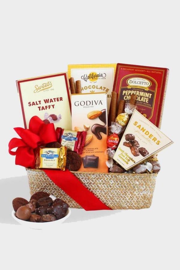X-mas Geschenkideen Sammlung feister Schokolade als Präsent zu Weihnachten