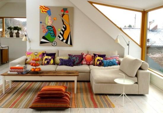 floor cushion throw pillow ethno style