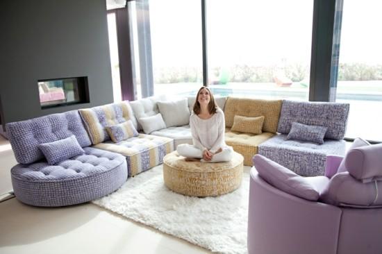 bodenkissen sofa ideen arianne