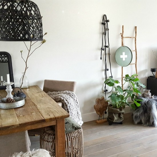 boho scandi style dining room living room furnishing ideas