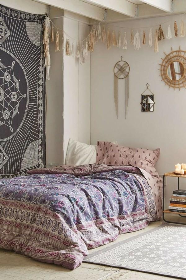 boho schlafzimmer orientalisch einrichten