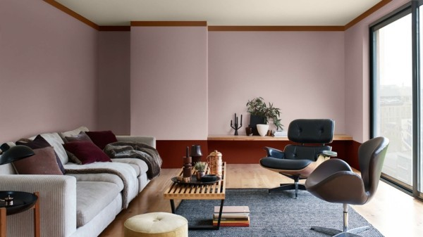 dulux farbe heart wood wandfarben ideen wohnzimmer