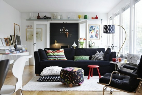 furnishing ideas in boho scandi style