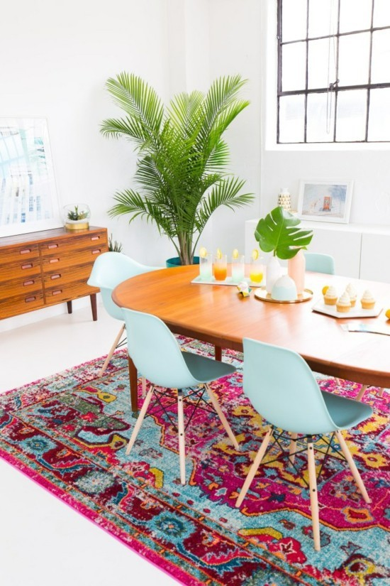 dinning room furnishing ideas boho scandi style