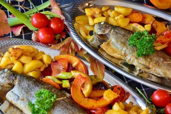 fisch mit anderen produkten gesundes essen