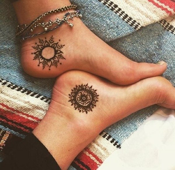 90 Henna Tattoo Ideen Neueste Trends Und Wunderschone Motive