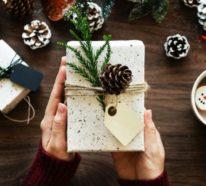 Einfache und moderne Weihnachtsgeschenke basteln – über 50 Ideen