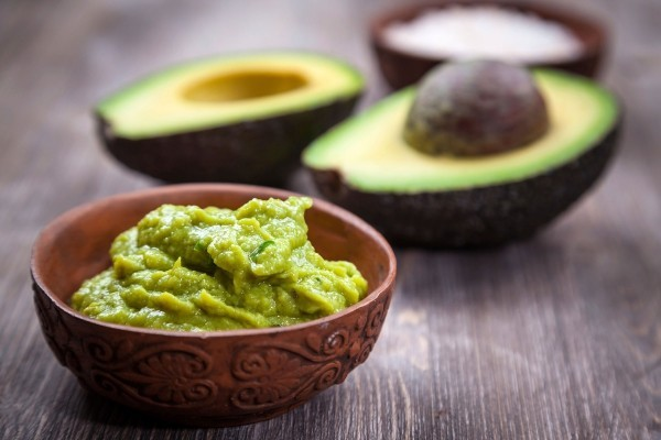 gesundes essen avocado creme