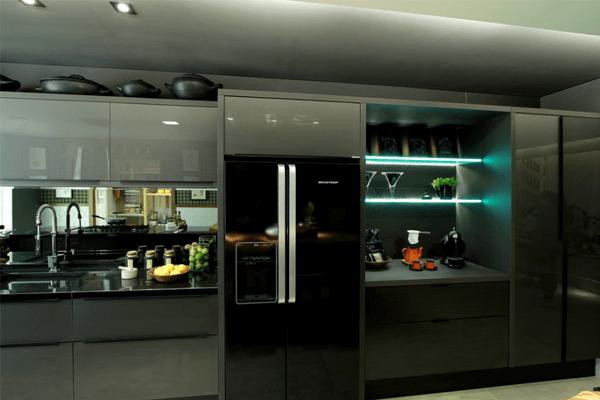 glanzvolle oberflächen Küchentrends