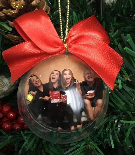 glas kugeln weihnachtsgeschenke basteln