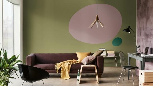 grün heart wood dulux wandfarben ideen