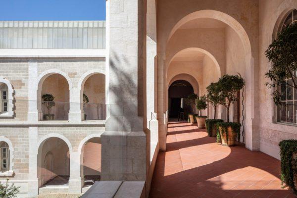 jaffa hotel aufschnitt moderne architektur
