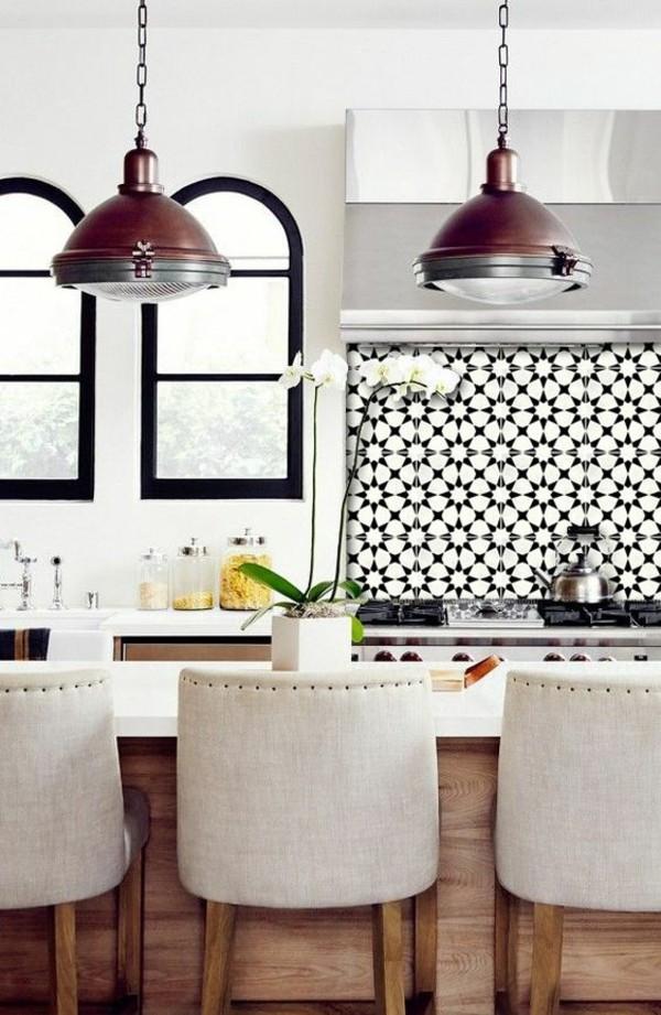 küche orientalisch einrichten industrial style