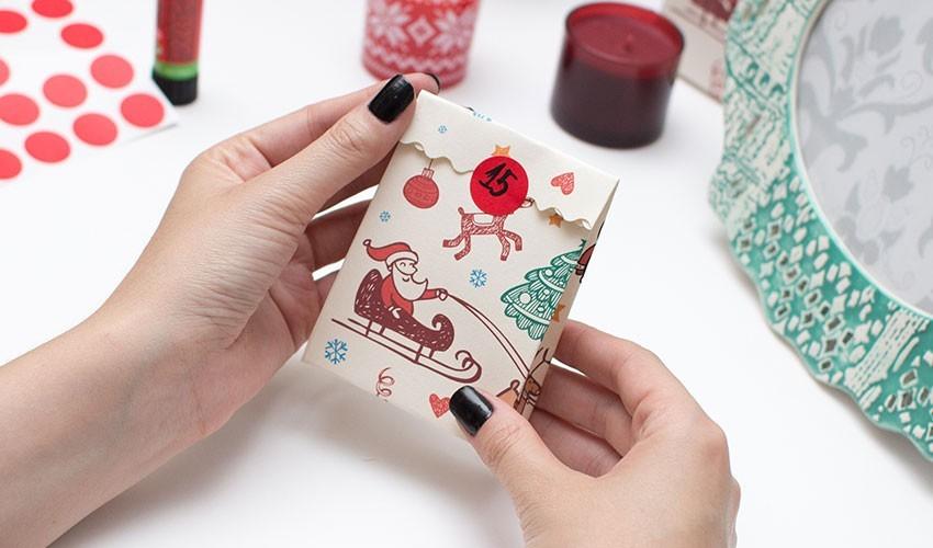 kleine geschenktüte weihnachtsgeschenke basteln