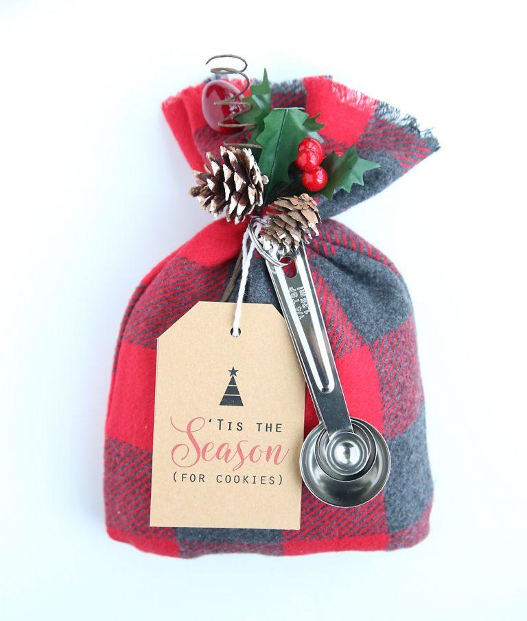 ländliche tüte weihnachtsgeschenke basteln (44)