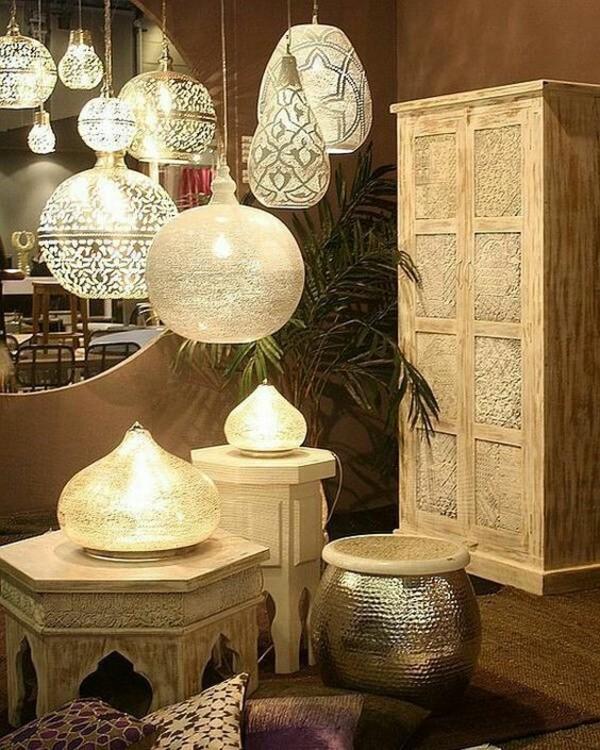 lampen orientalisch einrichten
