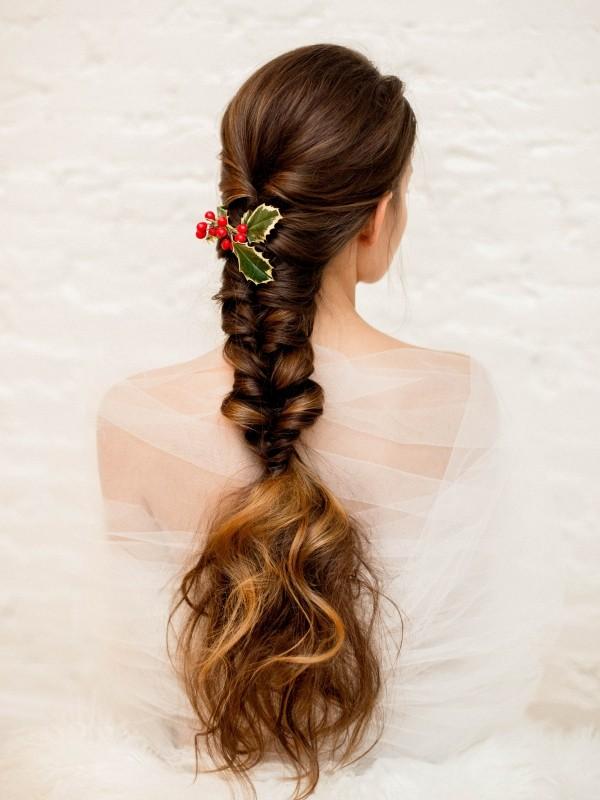 lange haare und deko schöne frisuren