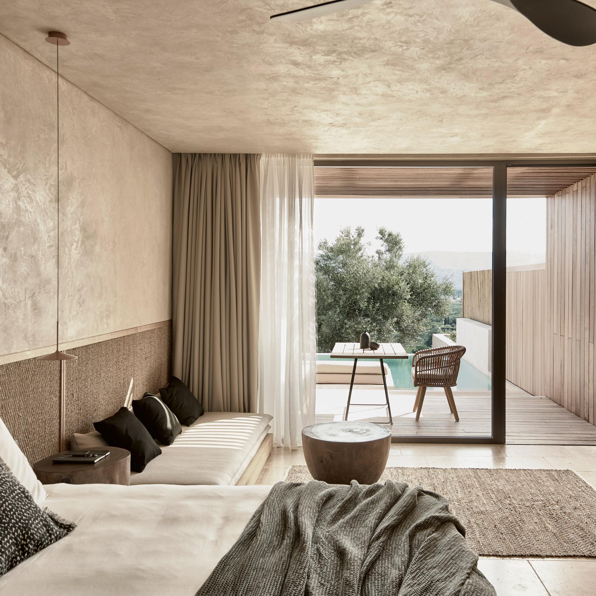 langer raum als Konzept für luxushotels