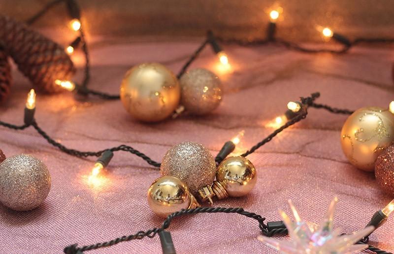 leuchtende kugeln weihnachtsgeschenke basteln