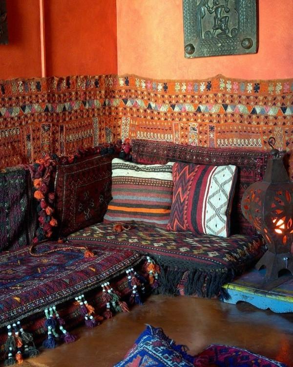 lounge ecke orientalisch einrichten