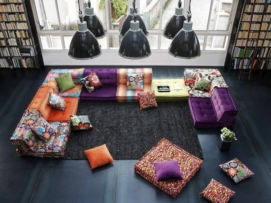 mah jong couch living room establishment