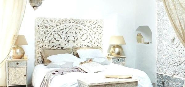 marokkanischer stil schlafzimmer orientalisch einrichten