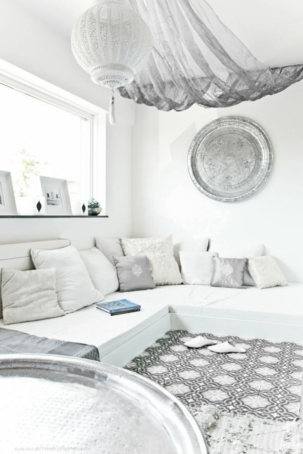 marokkanisches wohnzimmer modern orientalisch einrichten