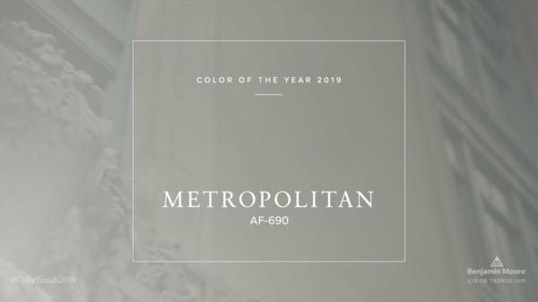 metropolitan farbe des jahres 2019 wandfarben ideen