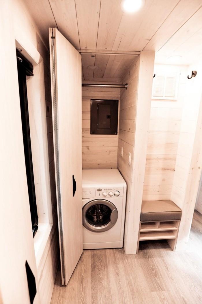 moderne architektur waschmaschine und andere möbel