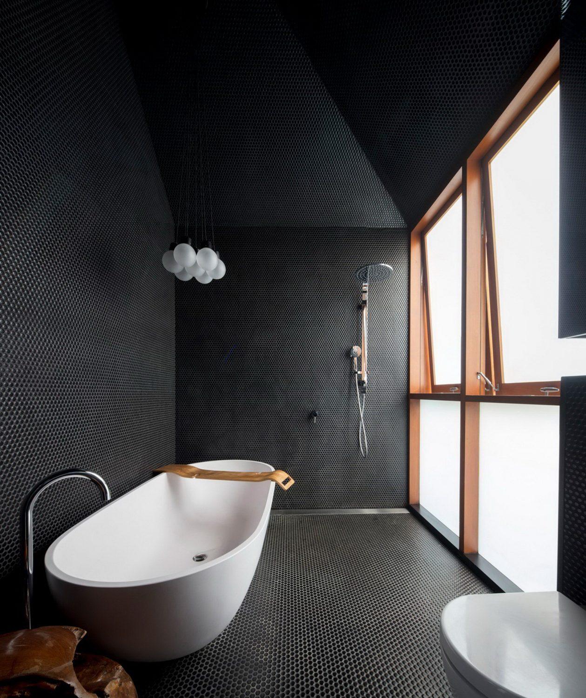 moderne inneneinrichtung weiße waschbecken ideen