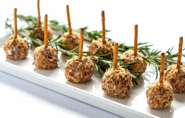 nussige käsebällchen fingerfood rezepte silvester