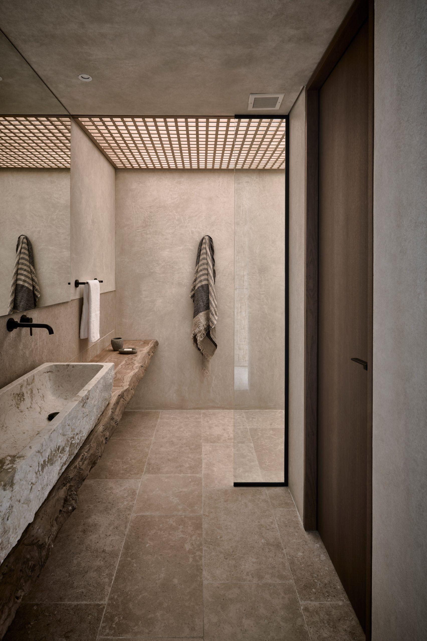 olea hotel moderne inneneinrichtung badezimmer