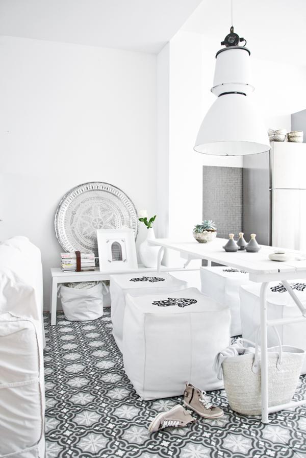 orientalisch einrichten kleines wohnzimmer