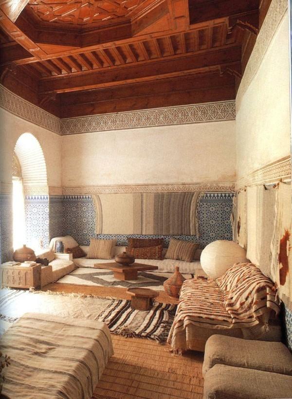 orientalisch einrichten marokkanisches wohnzimmmer