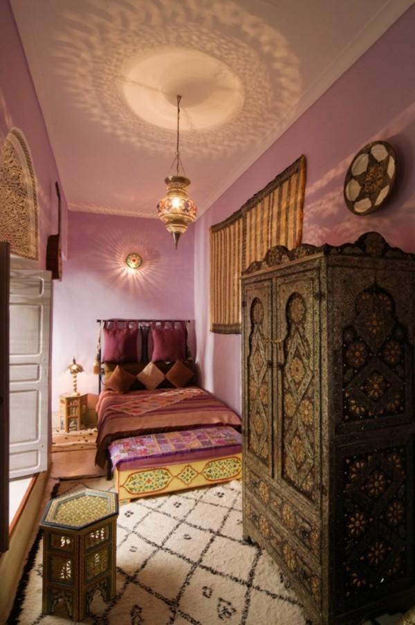 orientalisch einrichten schlafzimmer ideen