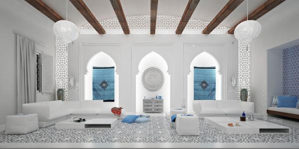 orientalisch einrichten wohnideen marokkanisch