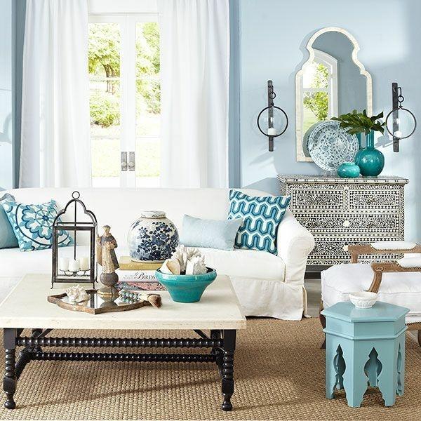 orientalisch einrichten wohnzimmer ideen