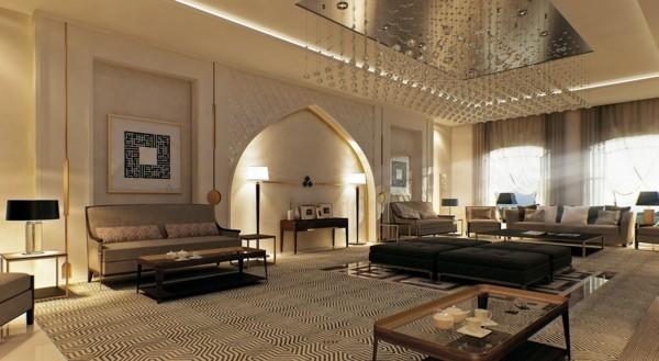 orientalisch einrichten wohnzimmer marokko