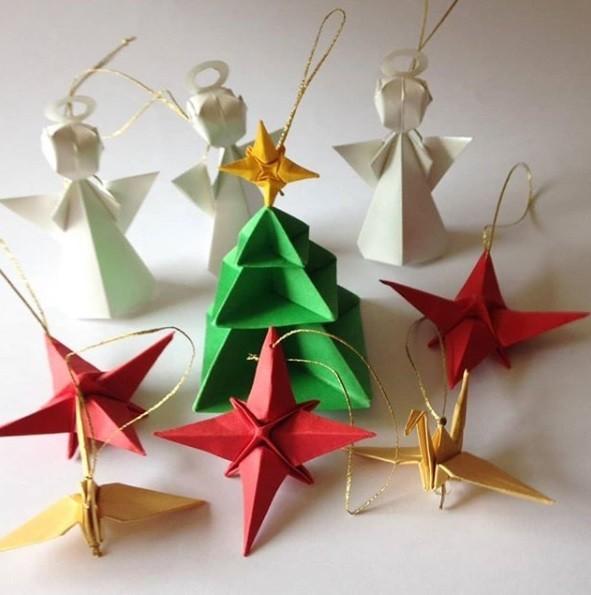papier sterne weihnachtsgeschenke basteln (10)
