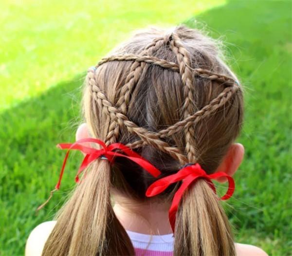 rote deko schöne frisuren