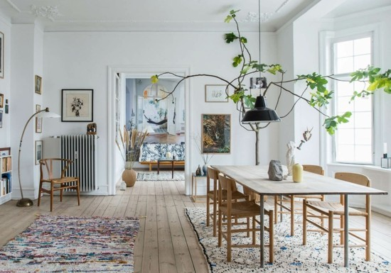 scandi trift boho furnishing ideas