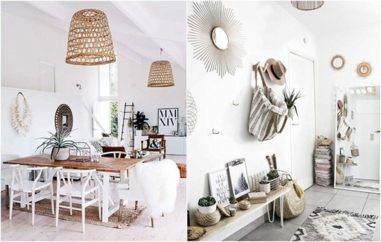 beautiful furnishing ideas boho scandi