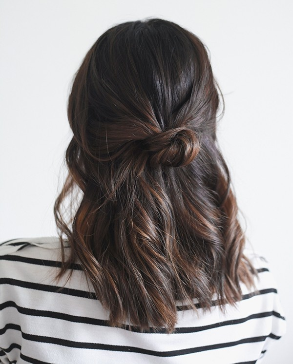 schöne frisuren brauen haare und locken