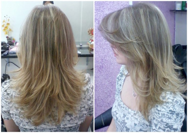 schöne frisuren langes blondes haar